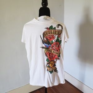 XL new Sublime t-shirt white